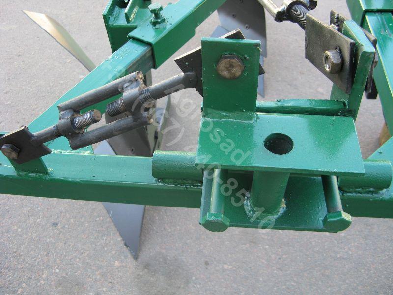 Плуг для мототрактора усиленный регулируемый ПНМ-2-20Р